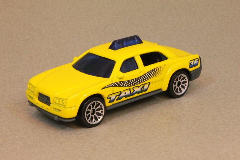 2014 Matchbox City Works Taxi Cab