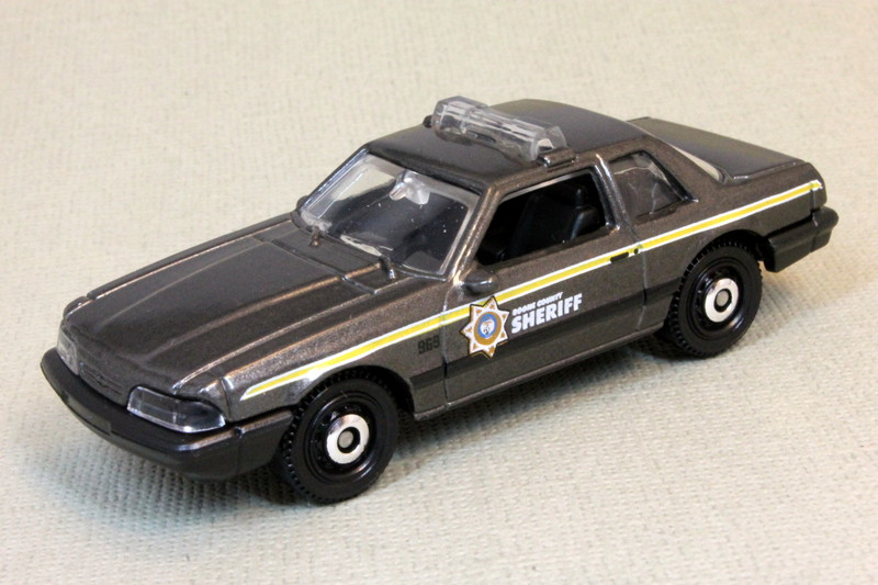 Matchbox Mustang Series 93 Ford Mustang LX SSP State Trooper